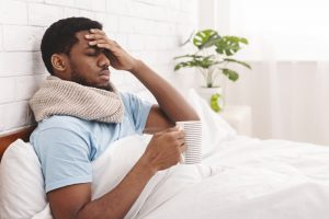 what to do when you start feeling sick